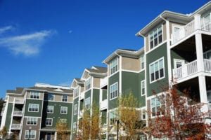 Commercial Roofing Apartment Complex