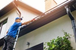 Littleton home roof gutter inspection roofing help