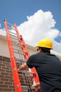 Commercial Roofing Repair Technician Flat Roof
